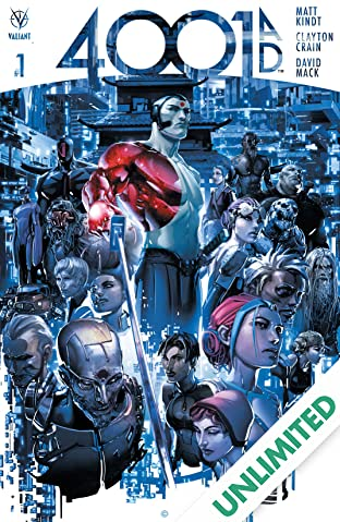 4001 A.D. #1: Digital Exclusives Edition
